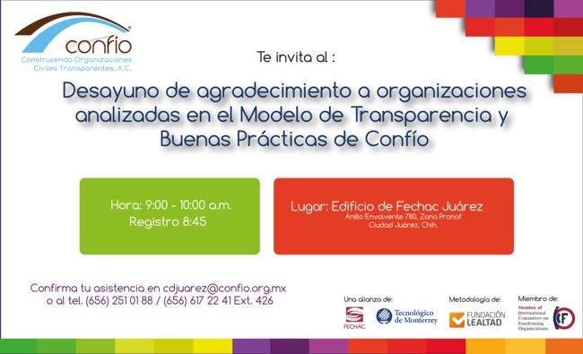 Invitación OSC reconocidas en Ciudad Juárez
