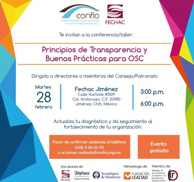 Invitación de Fechac y Confío Jiménez-01