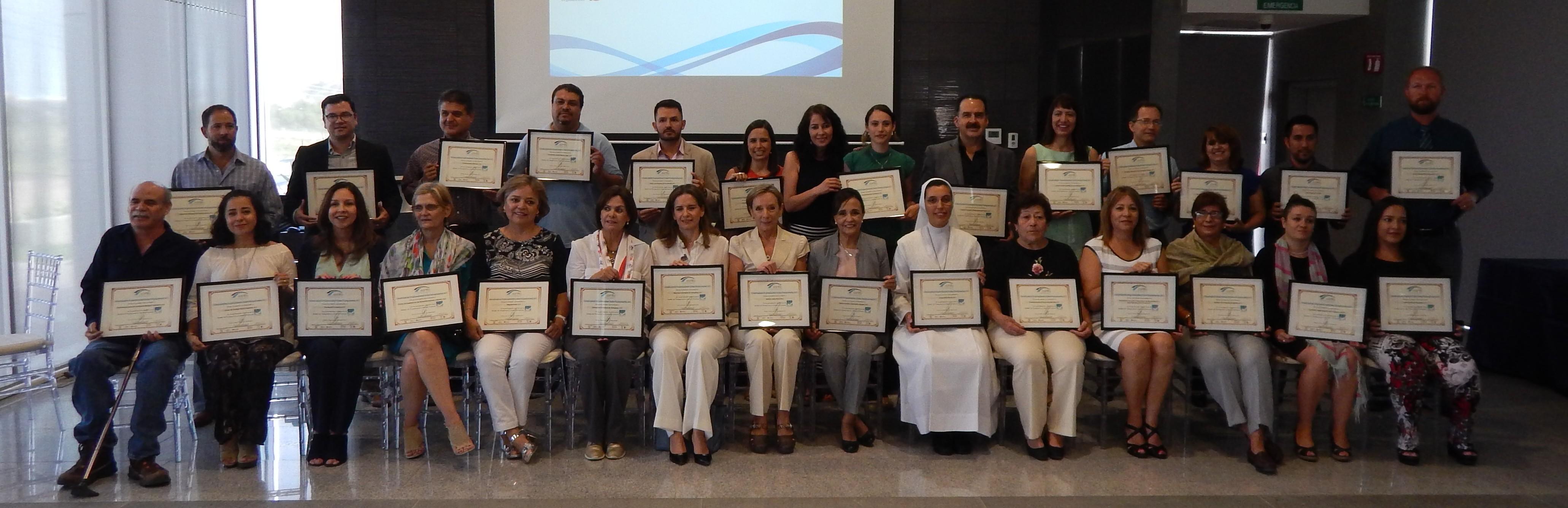 Confío, A.C. reconoce a 30 organizaciones del estado por su participación en el Modelo de Transparencia y Buenas Prácticas